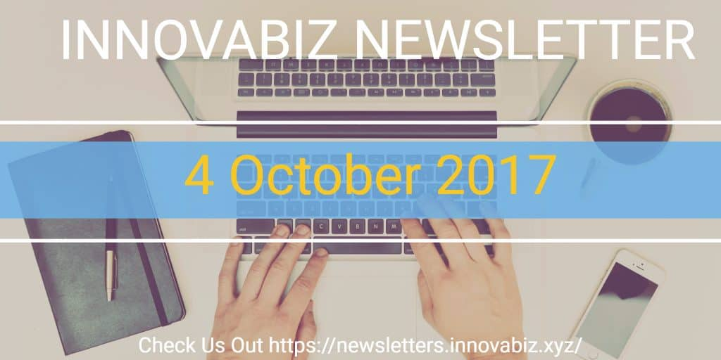 4 Oct 2017 newsletter